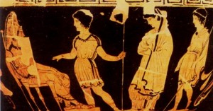 the strong character of antigone To begin with, there is a definite contrast between a strong female lead vs the stereotypical female character the most obvious example is between oedipus' two daughters, antigone and.
