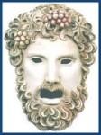 Greek Mask Dionysus