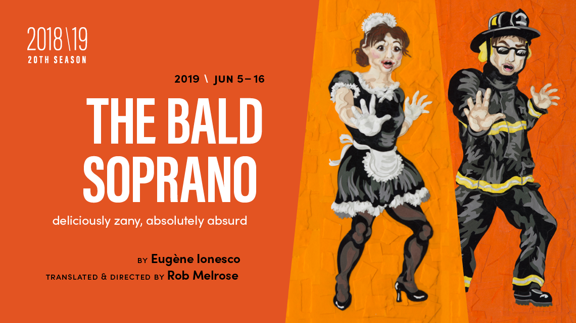 the bald soprano play
